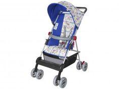 Carrinho de Bebê Passeio Tutti baby Damiano - Reclinável 2 Posições para Crianças até 15kg