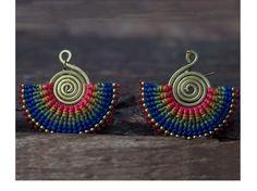 tribal earrings - Google Search