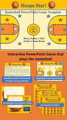 Create your own baseball style review games with this neat basketball powerpoint game template toneelgroepblik Image collections