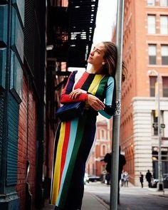 Uma das #DVFGirlsBrazil @paolamaria protagonizou um ensaio com a mais nova coleção da label. Ela foi fotografada em Nova York pelo marido Tinko Czetwertynski. As peças de Winter 2018 já estão disponíveis na loja @dvf do Brasil. #dvf via HARPER'S BAZAAR BRAZIL MAGAZINE OFFICIAL INSTAGRAM - Fashion Campaigns  Haute Couture  Advertising  Editorial Photography  Magazine Cover Designs  Supermodels  Runway Models