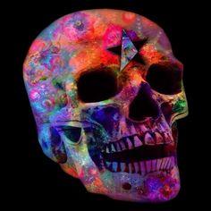 Psychedelic Skull - NeatoShop