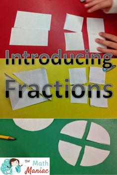 Check out this fun, effective way to introduce fractions. All you need is some paper and scissors!