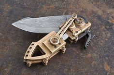 couteau steampunk