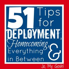 Jo, My Gosh!: 51 Tips for Deployment, Homecoming, & Everything in Between -  amazing blog!