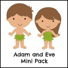 Are you teaching the story of Adam and Eve to your toddler or preschooler? Check out my free Adam and Eve printable pack. Perfect for Sunday school, too!