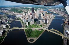 The 'Burgh - Aerial View