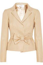 ValentinoSilk-twill jacket