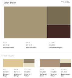 Sherwin Williams Craftsman Exterior Color Schemes.
