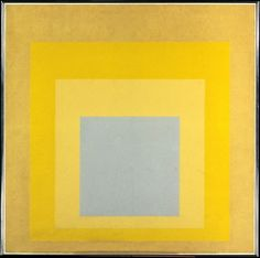 Josef Albers   Homage to the Square: With Rays   The Met