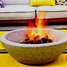 Minimal Fire Pit