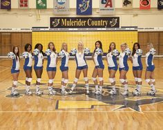 2012 SAU Volleyball Team - photo courtesy of Grisham Photography