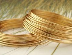 Premium Non Tarnish Brass Wire  1/2 ROUND  Half by UnkamenSupplies