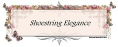 New look for Shoestring Elegance. What do ya think?