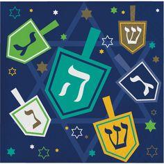 Hanukkah Icons Beverage Napkin (192/case)