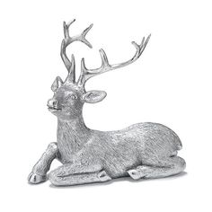 """Holiday Reindeer Figurine 