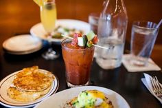 """Where they make a more macho mimosa:Bobcat Bonnie's; 1800 Michigan Ave., Detroit; 313-962-1383: Brunch is well-defined at Bonnie's, beginning promptly at 10 a.m. Saturday and Sunday, and lasting until 3:30 p.m. There's a separate brunch menu full of breakfast classics and small plates to munch on. Then there are those restoring libations: Bloody Marys and mimosas are $3. But if you dare, there's the manly """"Man-mosa"""" — 20 ounces of fresh OJ, sparkling wine, orange ..."""