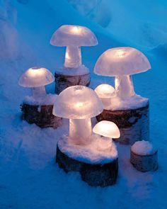 Ice-Mushroom Lights Love. It.