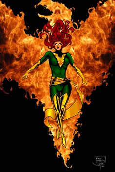 Phoenix Force #Marvel #Xmen