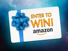 $100 Amazon Gift Card Giveaway!  Ends: 02/28/2017 Value: $100 Eligibility: US, CA, WW 18+ Daily Entry  Enter: http://giveawayplay.com/2017/02/04/100-amazon-gift-card-giveaway/