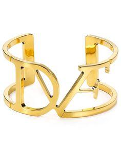 Diane von Furstenberg Logo Cuff