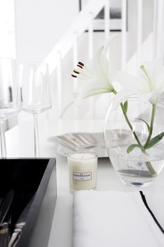 Tine k scented candle