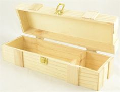 Wine Box | Wood Wine Box | Wood Boxes  Perfect to stain or decorate and use instead of a wine bag for a gift!
