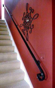 Best 12 Ft Wrought Iron Hand Rail Wall Rail Stair Step Railing 400 x 300