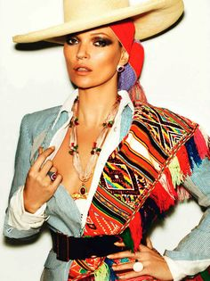 Kate Moss by Mario Testino for Vogue Paris April 2013