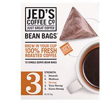 Camping tips - Jeds Coffee Bags No 3. Amaaazing. Freshly ground coffee but in a tea bag <3 Can buy at Countdown