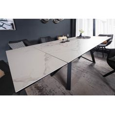 ATLAS design bővíthető étkezőasztal - márvány - 180-220-260cm | Luxus kerámia asztal Intelligent Design, Dinning Table, Modern Design, Furniture, Tables, Industrial, Home Decor, Products, Environment