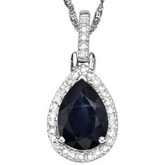 Graceful! Captivating black sapphire diamond pendant makes it a favorite. A stunning genuine black sapphire stone glows regally atop this ring. With double splendid white diamond for fashion and dazzle designed in 0.925 sterling silver with platinum. Light up the night when you wear this excellent sterling silver pendant. Our Price : $9.99