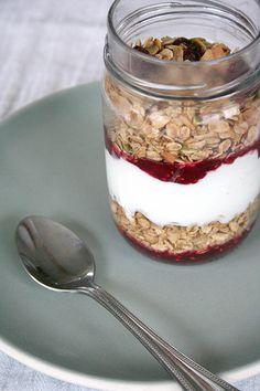 Recette yaourt - céréales pour changer du bol de lait ! #GlassIsLife