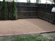 How to make a pea gravel patio!