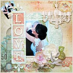 Love - Victorian feel to the page