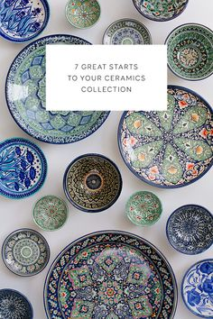 7 great starts to your ceramics collection.