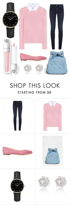 """Betty Cooper inspired outfit (Riverdale)"" by beautyfoolyou ❤ liked on Polyvore featuring 7 For All Mankind, Altuzarra, Chloé, Forever 21, ROSEFIELD and River Island"