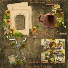 Scrapbooking TammyTags -- TT - Designer - With a Russian-Dutch Heart, TT - Item - Frame, TT - Style - Cluster