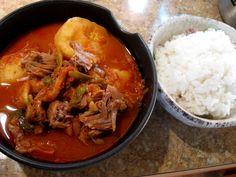 Neck Bone Soup Recipe, Pork Neck Bones Recipe, Korean Soup Recipes, Asian Recipes, Ethnic Recipes, Slow Cooker Soup, Slow Cooker Recipes, Neckbone Recipe, Quick Family Meals