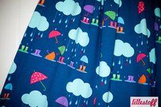 Simplifi Fabric — Rain Petrol - by Lillestoff - Organic Cotton Knit