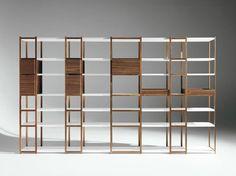 Librería modular '93-'08 by HORM.IT | diseño Carlo Cumini