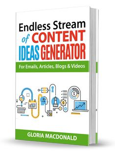 """Get Your FREE Guide!  An EASY, FAST & FUN Way to Generate an Endless Stream Of Content Ideas Every Single Day.  Don't have any idea what to write about? Feel like you're just not creative? Run into writer's block? Out of """"new"""" ideas  Now there's no need to worry ever again!"""