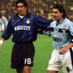 Iván Zamorano and Marcelo Salas #Legends
