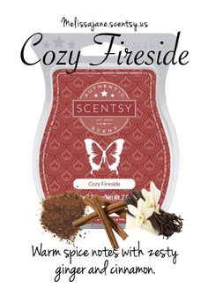 Cozy Fireside Scentsy Bar