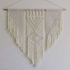 Macrame Copper Wall Hanging by BOTANICAhome on Etsy https://www.etsy.com/listing/265777302/macrame-copper-wall-hanging