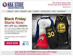 2012 Black Friday Sale - NBA Store