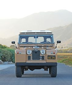 Car Porn: 1964 Land Rover Series IIA 88 | Airows