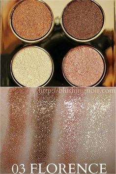 Milani 03 Florence Fierce Foil Eyeshine Swatches // Spring 2015 Color Collection