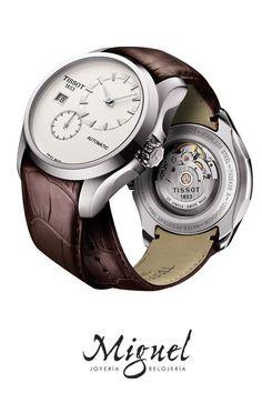 Relojes para novios o bodas: Reloj Tissot Couturier para hombre automático T035.428.16.031.00