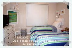 DIY Beach Cottage Renovation Guest Room from Island Princess 215