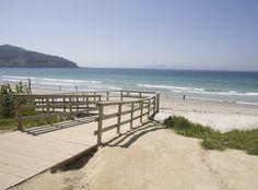 playa de patos. Vigo, Galicia. Spain